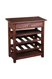 Sunset Trading Cottage Wine Server with Drawer Product Image