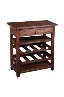 Sunset Trading Cottage Wine Server with Drawer - Sunset Trading