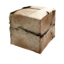 Pacino Animal Hide Stool
