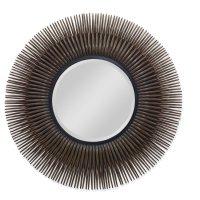 Rattan Burst Mirror (cg007415, C415007) Product Image