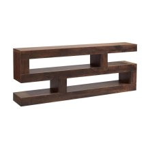 """74"""" S Console Table"""