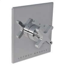 Single cross handle pressure balance trim only, to suit K1-4100 rough