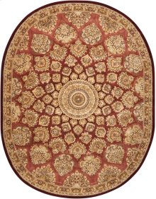 Nourison 2000 2318 Ros Oval Rug 7'6'' X 9'6''
