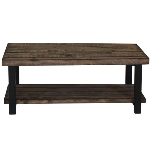 Rustic Brown Coffee Table
