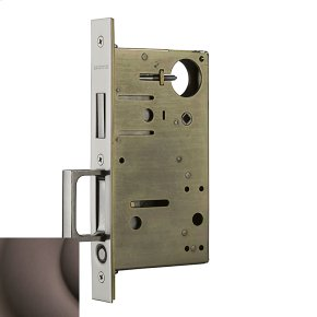 Venetian Bronze 8602 Pocket Door Lock with Pull