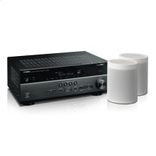 MusicCast RX-V685 Bundle - White 7.2-Channel AV Receiver with MusicCast