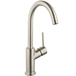 Brushed Nickel Talis S Single-Hole Faucet, 1.2 GPM