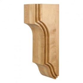 "5"" x 5"" x 14"" Arts & Crafts Stacked Corbel, Species: Maple."