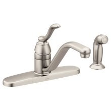 Banbury spot resist stainless one-handle kitchen faucet