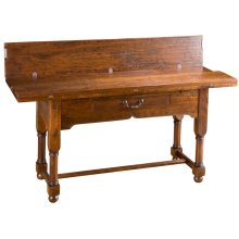 Flip-Top Console Table with drawer