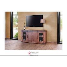 """70"""" TV Stand w/4 Doors & Shelves"""