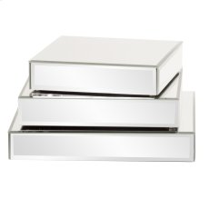 Square Mirrored Display Platforms - set of 3 Product Image