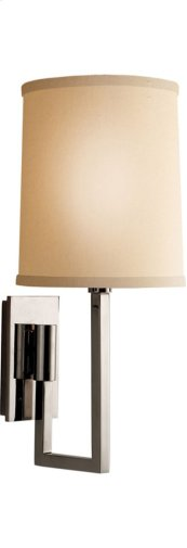 Visual Comfort BBL2027PN-L Barbara Barry Aspect 1 Light 6 inch Polished Nickel Decorative Wall Light