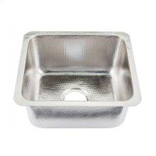 Hammered Nickel Como Bar/Prep Sink