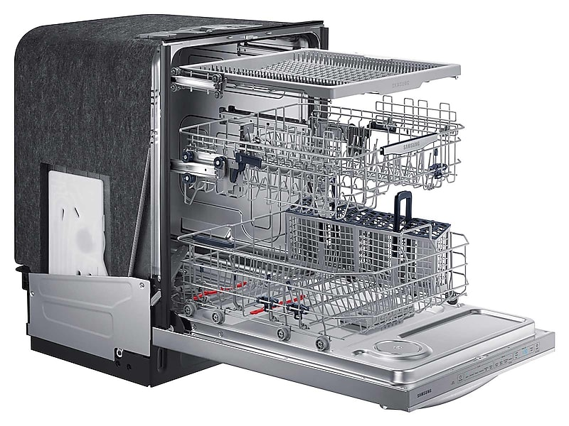 DW80K7050US Samsung Top Control Dishwasher with StormWash STAINLESS