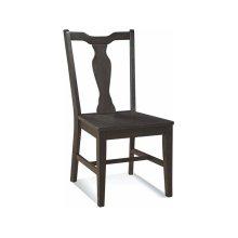 Splatback Chair in Black Pearl