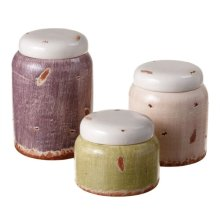 Distressed Canister set/3.