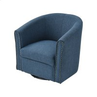 Avalor Navy Linen Chair Product Image