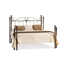 Natasha Regular Open Footboard Bed - Full