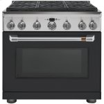 """Cafe36"""" Dual Fuel Professional Range with 6 Burners (Natural Gas)"""