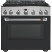 """36"""" Dual-Fuel Professional Range with 6 Burners (Natural Gas)"""
