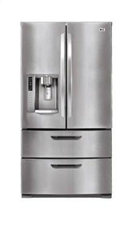 4-Door French Door Refrigerator with Auto-Opening Freezer Doors