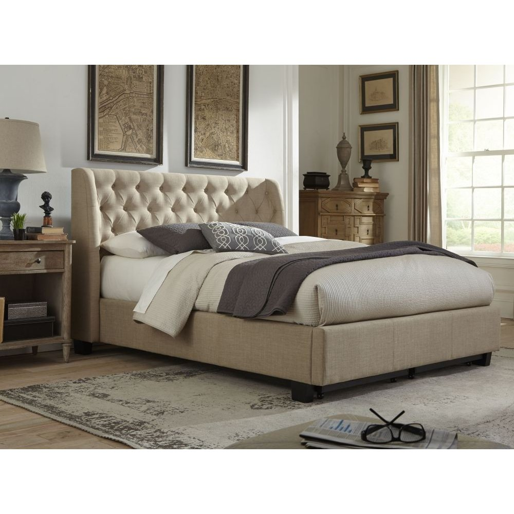 Levi Full Storage Bed