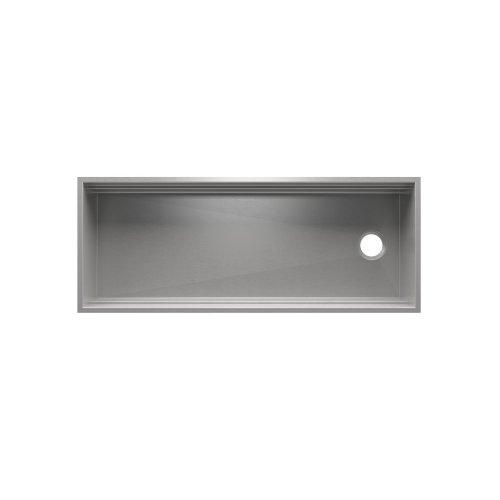 "SmartStation 005404 - undermount stainless steel Kitchen sink , 48"" × 18 1/8"" × 10"" (Maple)"