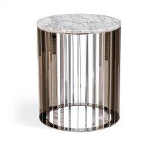 Greer Side Table - Carrara White