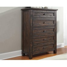 Timber and Tanning Five Drawer Chest