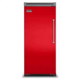 "Racing Red 36"" Quiet Cool™ All Refrigerator - VIRB Tru-Flush™ (Left Hinge Door)"