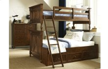 Big Sur by Wendy Bellissimo Bixby Bunk Bed Twin over Full
