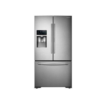 23 Cu Ft Counter Depth 3 Door Food Showcase Refrigerator Product Image