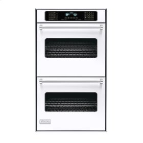 "White 30"" Double Electric Touch Control Premiere Oven - VEDO (30"" Wide Double Electric Touch Control Premiere Oven)"