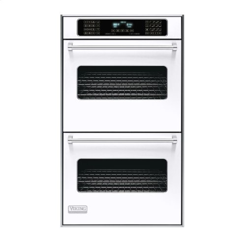 """White 30"""" Double Electric Touch Control Premiere Oven - VEDO (30"""" Wide Double Electric Touch Control Premiere Oven)"""