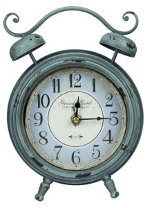 Mica Table Clock