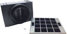 HIREC5UC Island Hood Recirculation Kit Benchmark® Series - Stainless Steel