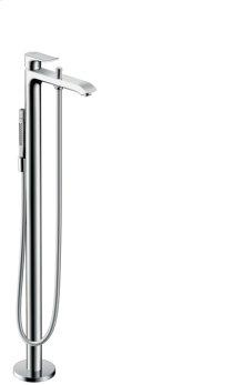 Chrome Freestanding Tub Filler Trim with 1.75 GPM Handshower