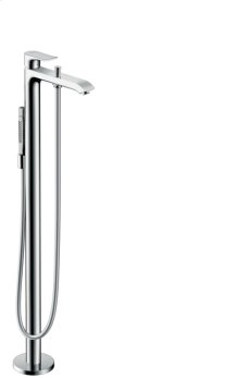 Chrome Freestanding Tub Filler Trim with 2.0 GPM Handshower