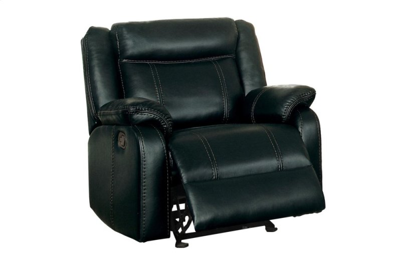 Double Reclining Sofa With Center Drop Down Cup Holders