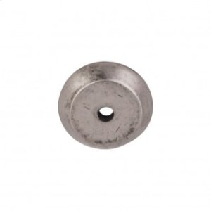 Aspen Round Backplate 7/8 Inch - Silicon Bronze Light
