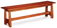 """Aspen Bench with Inlay, Aspen Bench with Inlay, 36""""w Product Image"""