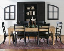 Windsor Dining Table with Harper Chairs