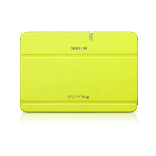 Galaxy Note 10.1 Magnetic Book Cover, Lime Green