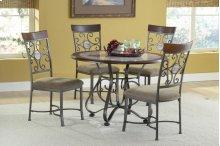 Alabaster Metal Dinette : Alabaster Metal And Marble Dinette Table