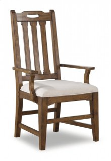 Sonora Upholstered Arm Dining Chair