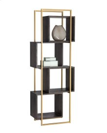 Jigsaw Bookcase - Brown