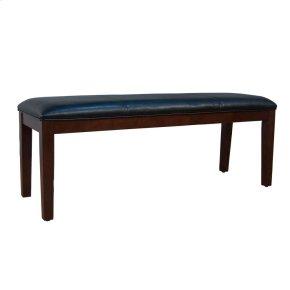 Upholstered Bench-Black