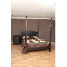 """#470 Pencil Post Bed Overall 86""""h"""