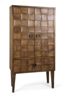 Cahan Wood Tile Armoire Product Image